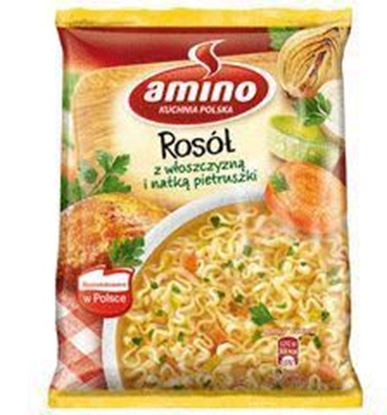 Picture of ZUPA AMINO NUDLE ROSOL Z KURY 58G