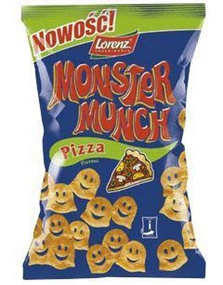 Picture of CHIPSY MONSTER MUNCH PIZZA 100G LORENZ BAHLSEN
