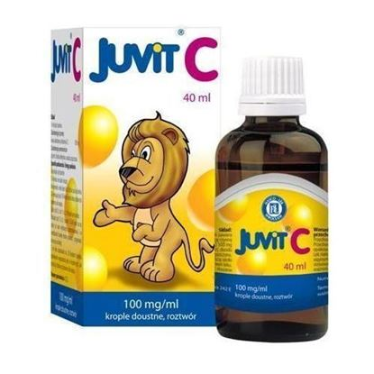 Picture of Juvit C, 100 mg/ml, krople doustne, 40 ml