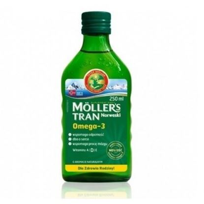 Picture of Tran mollers, naturalny, 250ml