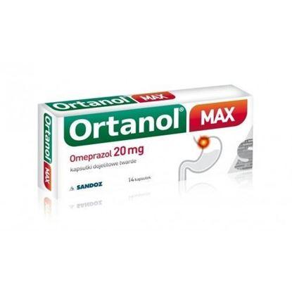 Picture of Ortanol max 20mg, 14 kapsułek