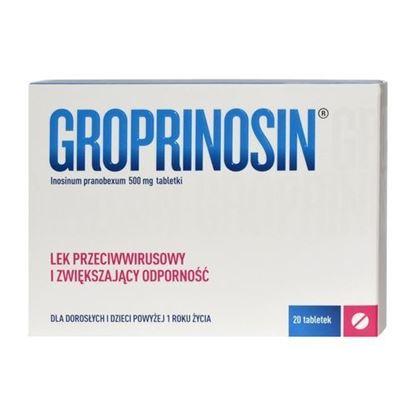 Picture of Groprinosin 500mg, 20 tabletek