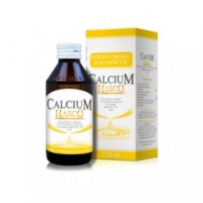 Picture of Calcium hasco, syrop, smak bananowy, 150ml