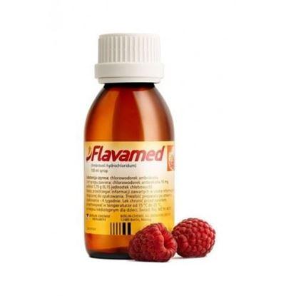 Picture of Flavamed, syrop 15mg/5ml, smak malinowy, 100ml  dzieci