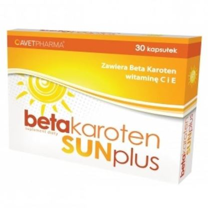 Picture of Beta Karoten Sun Plus, 30 kapsułek