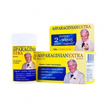 Picture of Asparaginian extra, magnezu i potasu, 50 tabletek