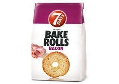 Picture of data 30.01 / BAKE ROLLS 7 DAYS BACON 160G CHIPITA