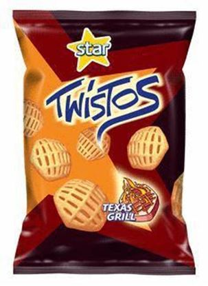 Picture of CHRUPKI TWISTOS TEXAS GRILL 70G FRITO LAY
