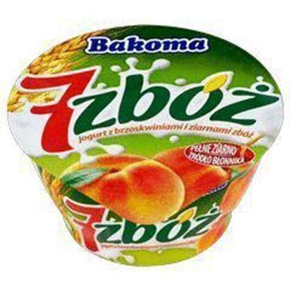 Picture of data 23.02 /JOGURT 7 ZBOZ 140G BRZOSKWINIA BAKOMA