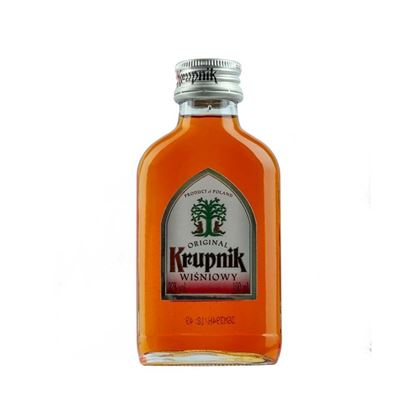 Picture of KRUPNIK CHERRY (WIŚNIA) 0.1L ALC. 30%