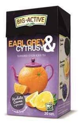 Picture of BIG-ACTIVE HERBATA EXP EARL GREY I CYTRUSY 20TB*2