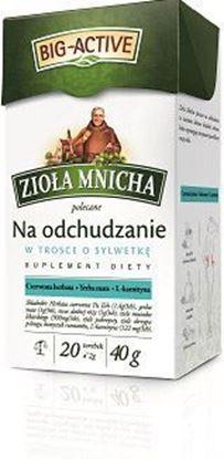 Picture of HERBATA EXP ZIOLA MNICHA NA ODCHUDZANIE 20*2G BIG-ACTIVE