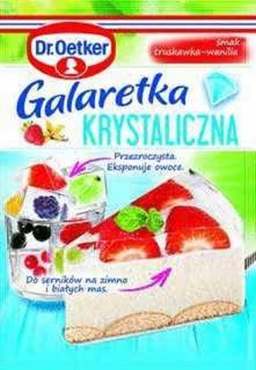 Picture of GALARETKA DR OETKER KRYSTALICZNA TRUSKAWKOWO-WANILIOWA 77G