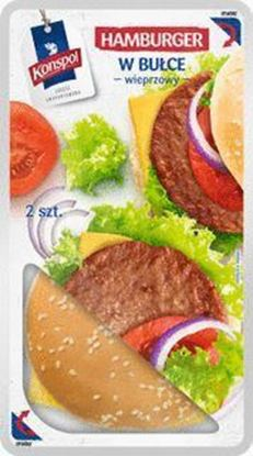 Picture of HAMBURGER WIEPRZOWY W BULCE 280G KONSPOL