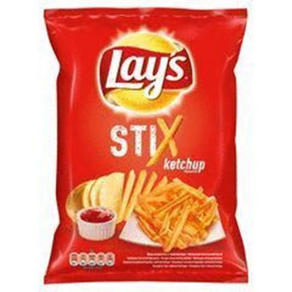 Picture of CHIPSY LAYS STIX 140G KETCHUPOWE