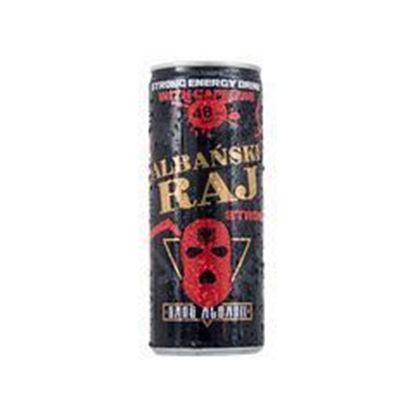 Picture of ENERGY DRINK STRONG POWER 250ML PUSZKA ALBANSKI RAJ