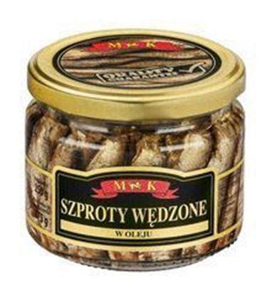Picture of SZPROTY WEDZONE W OLEJU 250G SLOIK MK