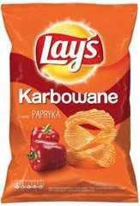 Picture of CHIPSY LAYS 130G KARBOWANA PAPRYKA