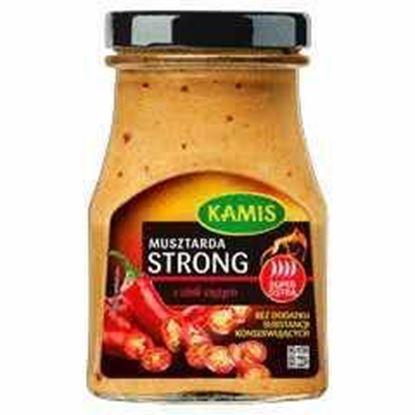 Picture of MUSZTARDA STRONG Z CHILI CIETYM 185G KAMIS