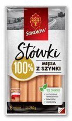 Picture of PAROWKI STOWKI Z SZYNKI 250G SOKOLOW