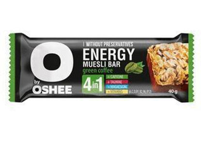 Picture of BATONIK OSHEE ENERGY MUSLI BAR 40G ZIELONA KAWA