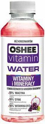 Picture of WODA OSHEE VITAMIN H2O WITAMIN I MINERAL 555ML PET