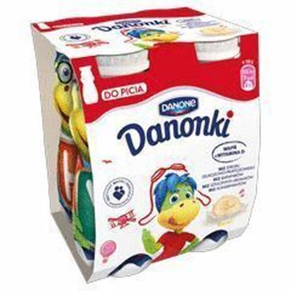 Picture of data 12.06 / JOGURT PITNY DANONKI (SMOKI) BANAN 4X100G DANONE