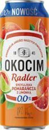 Picture of PIWO OKOCIM RADLER 0% POMARANCZA SYCYLIJSKA PUSZKA 500ML