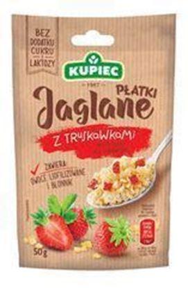Picture of PLATKI JAGLANE 50G TRUSKAWKI SASZETKA KUPIEC