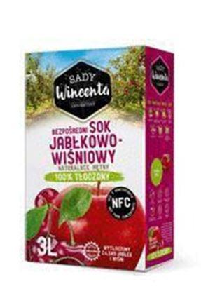Picture of SOK JABLKO-WISNIA NFC 3L SADY WINCENTA