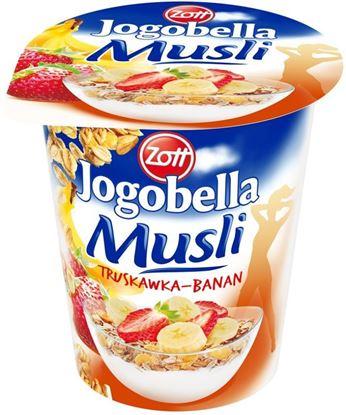 Picture of Jogurt Musli Jogobella Truskawka - Banan 200G Zott