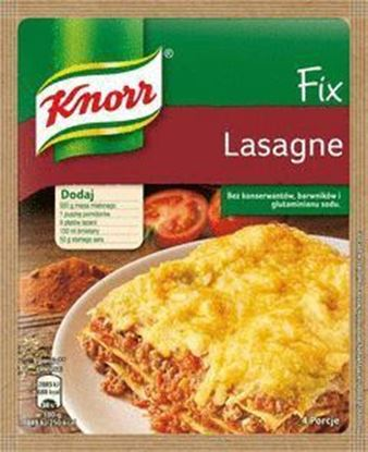 Picture of FIX  KNORR LASAGNE 56G