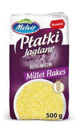 Picture of PLATKI JAGLANE BLYSKAWICZNE 500G MELVIT