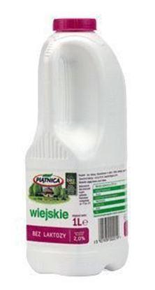 Picture of MLEKO WIEJSKIE BEZ LAKTOZY 2% 1L BUTELKA PIATNICA