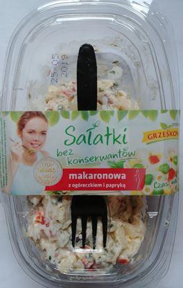 Picture of SALATKA MAKARONOWA Z OGORECZKIEM I PAPRYKA
