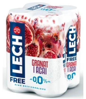 Picture of LECH FREE GRANAT I ACAI 500ML PUSZKA
