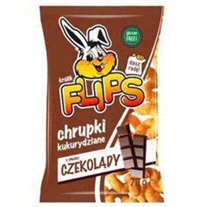 Picture of CHRUPKI FLIPS KUKURYDZIANE CZEKOLADOWE 70G