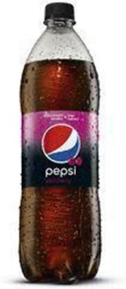 Picture of NAPOJ PEPSI WILD CHERRY ZERO 1L GAZ PET