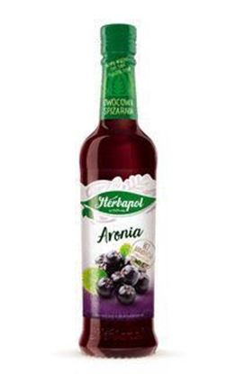 Picture of SYROP OWOCOWA SPIZARNIA 420ML ARONIA HERBAPOL