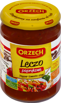 Picture of LECZO PAPRYKOWE 460G ORZECH