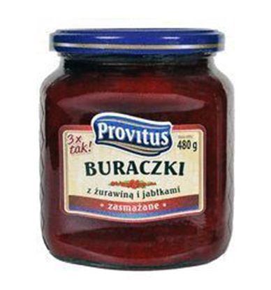 Picture of BURACZKI ZASMAZANE Z ZURAWINA I JABLKAMI 480G PROVITUS