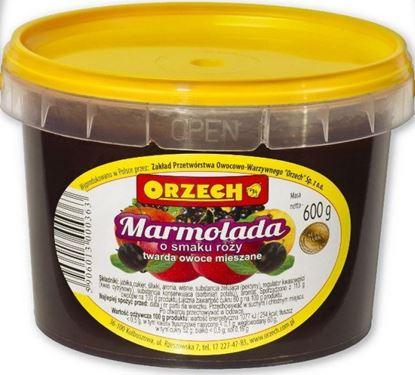 Picture of MARMOLADA TWARDA O SMAKU ROZY 600G ORZECH