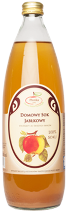 Picture of DOMOWY SOK JABLKOWY 100% 860ML PLONKA
