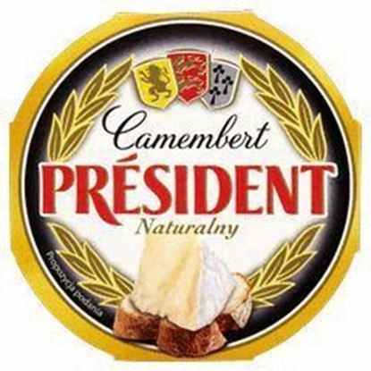 Picture of SER PRESIDENT CAMEMBERT NATURALNY 120G LACTALIS