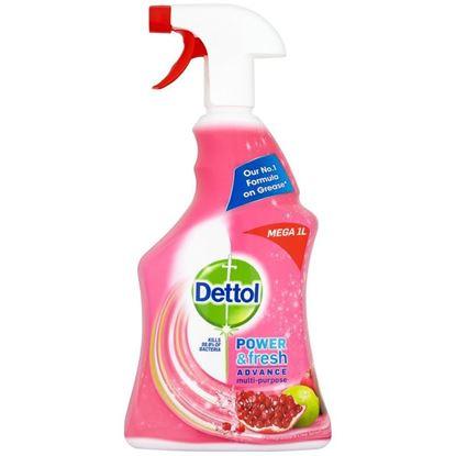 Picture of DETTOL CLEAN & FRESH SPRAY (GRANAT + LIMONKA) 1L