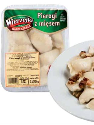 Picture of PIEROGI Z MIESEM WIERZEJKI 400g