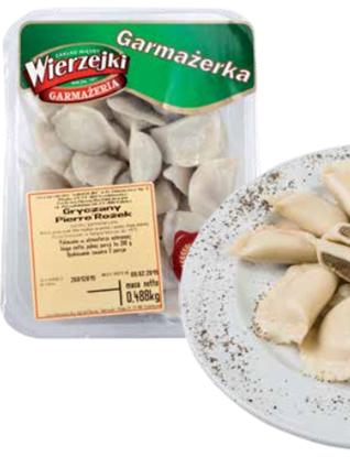 Picture of PIEROGI Z KASZA GRYCZANA I PODROBAMI WIERZEJKI 400g