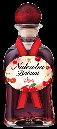 "Picture of LIKIER ""NALEWKA BABUNI"" WIŚNIA 18% 500ML"