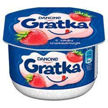 Picture of DESER GRATKA TRUSKAWKA 115G DANONE