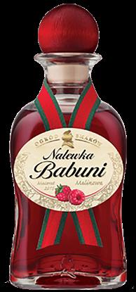"Picture of LIKIER ""NALEWKA BABUNI"" MALINA 18% 500ML"